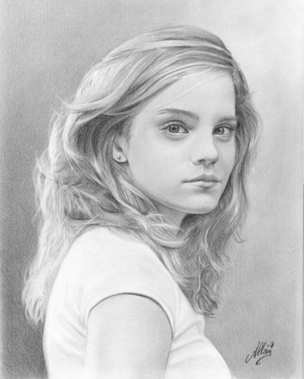Emma Watson by Allan